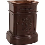 Elements - Bath Vanity - Merlot - VAN031-NT