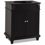 Elements - Bath Vanity - Black - VAN057-30-NT