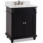 Elements - Bath Vanity - Black - VAN057-30-T-MW