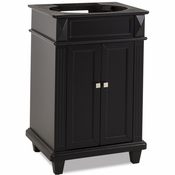Elements - Bath Vanity - Black - VAN057-NT