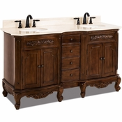 Elements - Bath Vanity - Nutmeg - VAN062D-60-T-MC