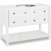 Elements - Bath Vanity - White - VAN066-48-NT