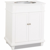 Elements - Bath Vanity - White - VAN094-30-NT