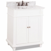 Elements - Bath Vanity - White - VAN094-30-T-MW