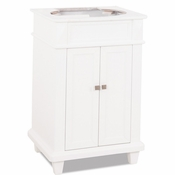 Elements - Bath Vanity - White - VAN094-NT