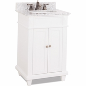 Elements - Bath Vanity - White - VAN094-T-MW