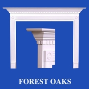 Forest Oaks Mantel - Stain Grade - Red Oak - 36
