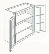 Glass Wall Cabinets