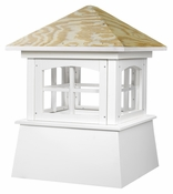 Good Directions - Brookfield Vinyl Cupola with Wood Roof - 2118BV