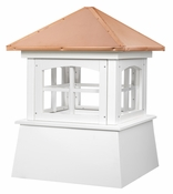 Good Directions - Huntington Vinyl Cupola with Copper Roof - 2118HV