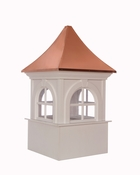 Good Directions - Smithsonian Fairfax Vinyl Cupola with Copper Roof - PS30SW
