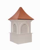 Good Directions - Smithsonian Newington Vinyl Cupola with Copper Roof - PS26SL