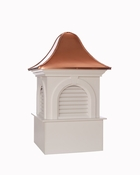 Good Directions - Smithsonian Ridgefield Vinyl Cupola with Copper Roof - BS26SL