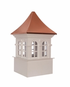 Good Directions - Smithsonian Stafford Vinyl Cupola with Copper Roof - PS26DW