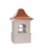 Good Directions - Smithsonian Washington Vinyl Cupola with Copper Roof - BS26SW