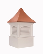 Good Directions - Southington Vinyl Cupola with Copper Roof - P26SL