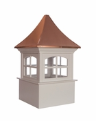 Good Directions - Westport Vinyl Cupola with Copper Roof - P26SW