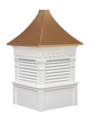 Greenfield Style - Louvered Cupola - Signature Series