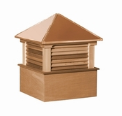 Hamlin Style - Louvered Cupola - Select Series