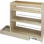 "Hardware Resources - 10"" x 21"" x 24"" Base Cabinet Pullout with Soft-close - BPO10SC"