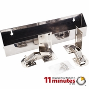 """Hardware Resources - 11-11/16"""" Shallow Sink Tipout Tray Pack. - TOSS11S-R"""