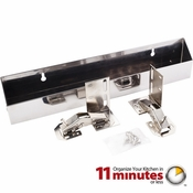 """Hardware Resources - 14-13/16"""" Shallow Sink Tipout Tray Pack. - TOSS14S-R"""