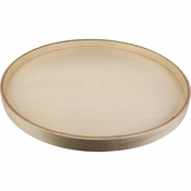 "Hardware Resources - 18"" Round Banded Lazy Susan with Swivel - BLSR18-S"