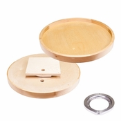 "Hardware Resources - 24"" Round Lazy Susan - LSR28-S"
