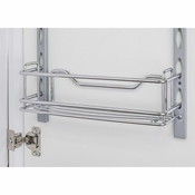 "Hardware Resources - Door Mount Tray 3"" x 3"" x 11"". - Polished Chrome - DMT3-PC-R"
