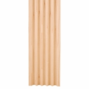 """Hardware Resources - 3"""" X 5/8"""" Fluted Moulding - Cherry - FLT2CH"""