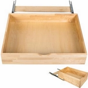 "Hardware Resources - Preassembled Rollout Shelf System for 33"" Cabinet Openings. - RO33-WB"