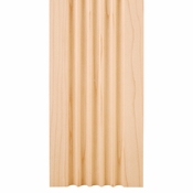 """Hardware Resources - 4"""" X 5/8"""" Fluted Moulding - Cherry - FLT4CH"""