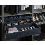 "Hardware Resources - Felt Covered 24"" Jewelry Organizer. - JD1-24-BL"