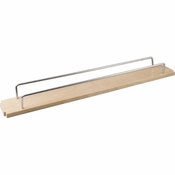 "Hardware Resources - 6"" Single Shelf for the BFPO3 Series Base Cabinet Filler Pullout - BPFO6-ES"