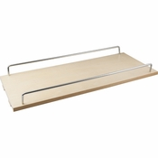 "Hardware Resources - 8"" Single Shelf for the BPO8 Series Base Cabinet Pullout - BPO8-ES"