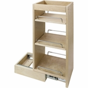 "Hardware Resources - 8"" x 10-1/2"" x 24"" Wall Cabinet Pullout - WPO8"