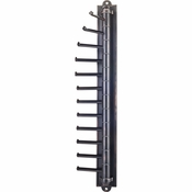 Hardware Resources - Screw Mounted Tie/Scarf Rack. - Brushed Oil Rubbed Bronze - 357T-DBAC
