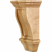 Hardware Resources - COR19-1RW - Renaissance Corbel - Rubberwood