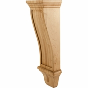Hardware Resources - COR19-3RW - Renaissance Corbel - Rubberwood