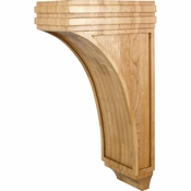 Hardware Resources - COR22-3RW - Mission Corbel - Rubberwood