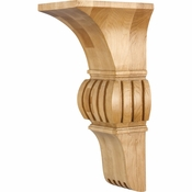 Hardware Resources - COR24-2MP - Arts & Crafts Corbel - Hard Maple