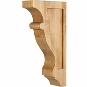 Hardware Resources - CORW-1CH - Transitional Contour Corbel - Cherry