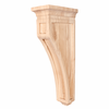 Hardware Resources - CORH-MP - Mission Style Wood Bar Bracket Corbel - Hard Maple