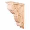 Hardware Resources - COR6-3MP - Celtic Weave Corbel - Hard Maple