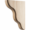 Hardware Resources - CORSM-2MP - Smooth Contour Bar Bracket - Hard Maple