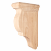 Hardware Resources - CORG-2MP - Traditional Wood Bar Bracket - Hard Maple