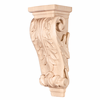 Hardware Resources - CORB-PMP - Petite Acanthus Wood Corbel - Hard Maple