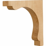 Hardware Resources - COR28-1MP - Transitional Corbel - Hard Maple