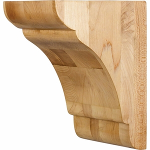 Hardware Resources - COR33-1HMP - Transitional Corbel - Hard Maple