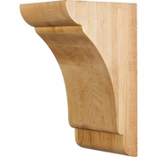 Hardware Resources - COR33-2RW - Transitional Corbel - Rubberwood